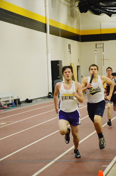 houghton indoor track meet results